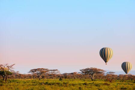 kenya: Hot balloon