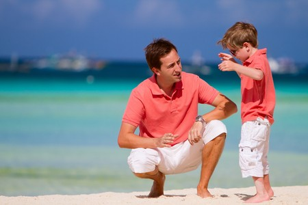 Father and son Stock Photo - 8158757