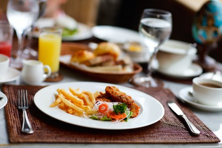 Delicious breakfast or lunch Stock Photo - 8221960