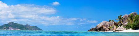 Stunning beach Anse Source d'Argent at Seychelles Stock Photo - 8703852