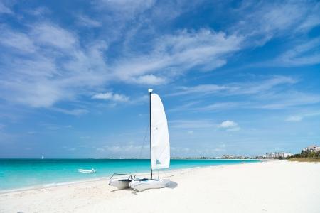 turks: Grace Bay Beach en Providenciales en Islas Turcas y Caicos Foto de archivo
