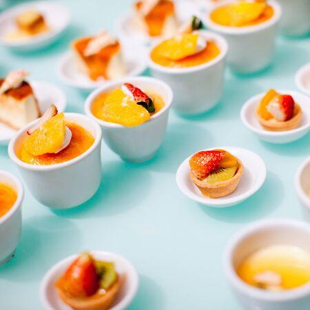 dessert buffet: Many different mini desserts at buffet restaurant