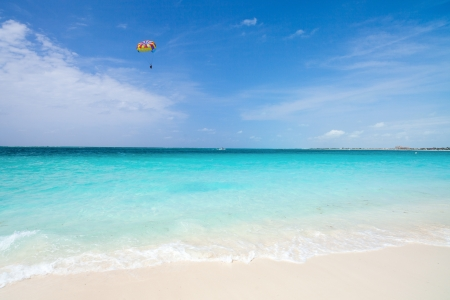 turks: Grace Bay Beach en Providenciales en las Islas Turcas y Caicos Foto de archivo