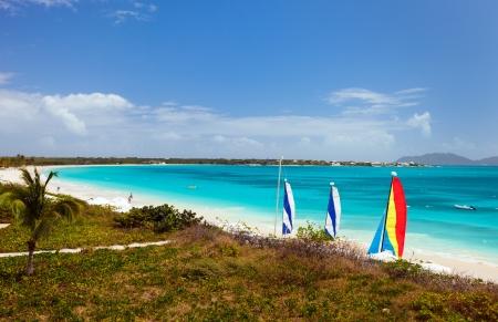 anguilla: Stunning Rendezvous Bay beach on Caribbean island of Anguilla