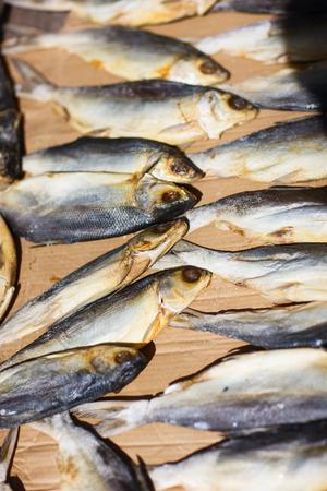 Fish at seafood market in Hong Kong Stock Photo - 24298657