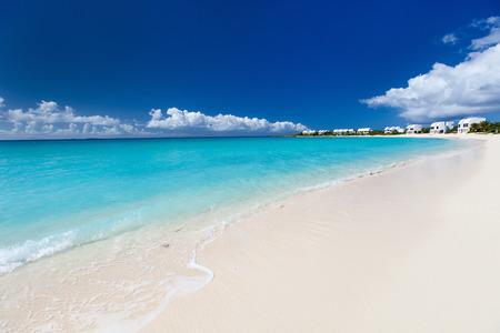 anguilla: Beautiful beach on Anguilla island, Caribbean