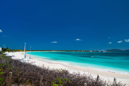rendezvous: Stunning Rendezvous Bay beach on Caribbean island of Anguilla