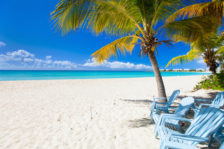 caribbean beach: Perfect Caribbean beach on Anguilla island