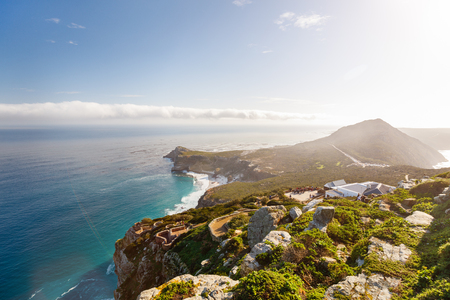 coastlines: Landscape of beautiful Cape of Good Hope in South Africa