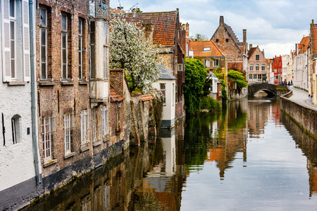 Bruges city in Belgium World Heritage Site of UNESCO Zdjęcie Seryjne