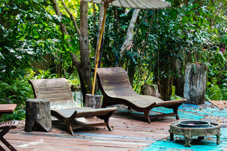 Beautiful wellness area in luxury resort