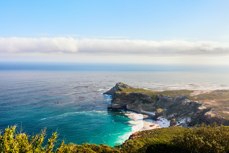 Landscape of beautiful Cape of Good Hope in South Africa
