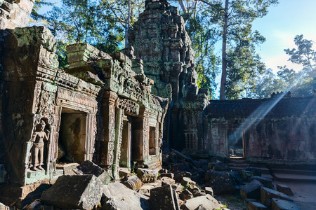 Angkor Wat jungle temple in Siem Reap in Cambodia