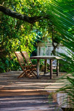 Beautiful quiet area in luxury resort