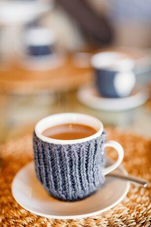 Fresh coffee served for breakfast Stok Fotoğraf