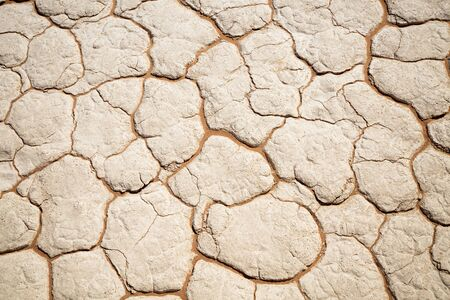 Abstract sand pattern in dried river bed in Deadvlei Namibia