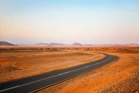 Beautiful landscape of Namib desert