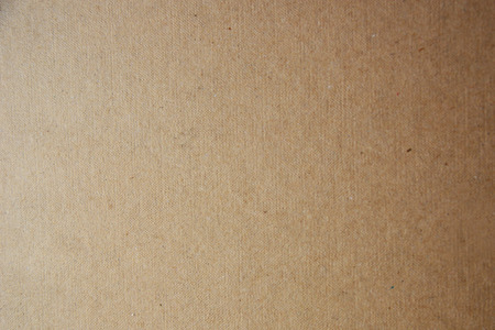 close-up texture of a brown cardboard