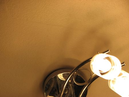 socle: Beautiful luster under a ceiling