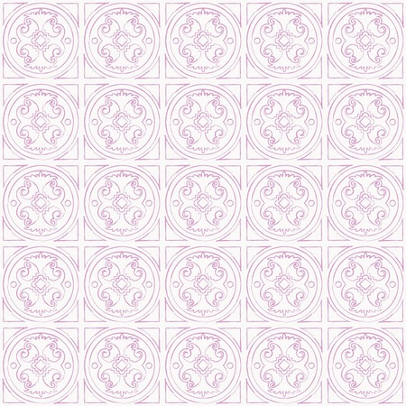 lacet: Geometric abstract hand drawn pattern. Vector seamless pink and white wallpaper.
