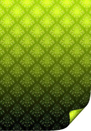 textural: Textural Flower Green Background  Stock Photo