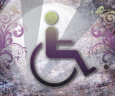 accessibility: handicap symbol of accessibility