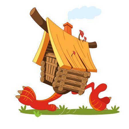 Fairy hut on chicken legs.