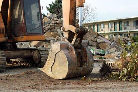 Graaf machine-sloop werf Stockfoto - 2629882
