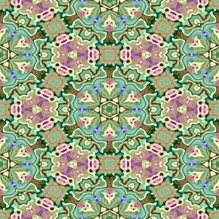 glossiness: Background in old style designed in fine pastel colors blue, green and pink