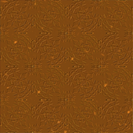 smudge: Grunge wrought old metal background with smudge surface in copper color