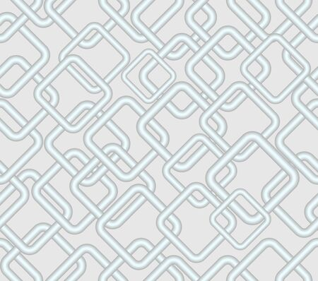 contrasting: Vector seamless background Contrasting low rhomboid metallic patterns on light gray area Illustration