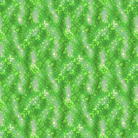 bumpy: Green mosaic decorative background on bumpy surface Stock Photo