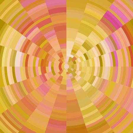 warm colors: Fondo abstracto con círculos concéntricos en colores cálidos