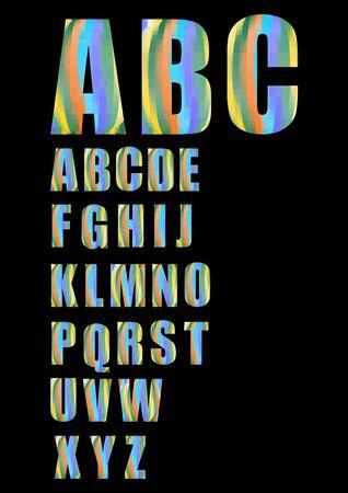 uppercase: Pixel uppercase grunge vector alphabet