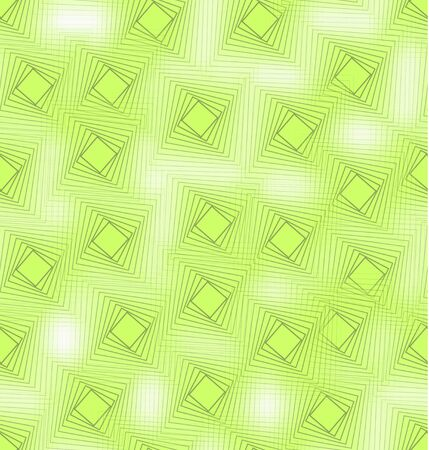 blend: Vivid green seamless background tile with blend square decor and fine transparency effect