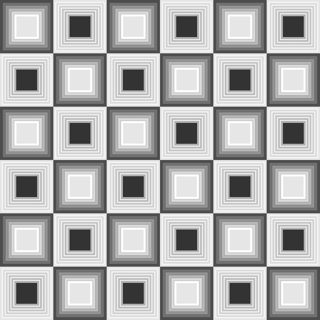 inverse: Seamless background with inverse square shapes in shades of gray in composition like chessboard, vector EPS10 Illustration