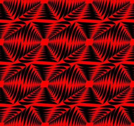 contrasting: Modern strong contrasting abstract background in red and black. Seamless abstract background composed of uneven shapes.