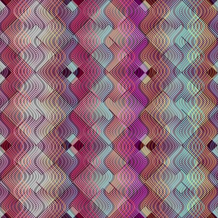 unobtrusive: Abstract background with vertical wavy patterns and overlapping rhomboid ornament. Elegant modern design in unobtrusive colors