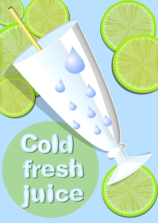 cold drinks: Summer offer of cold drinks in restaurant, bar, fast food