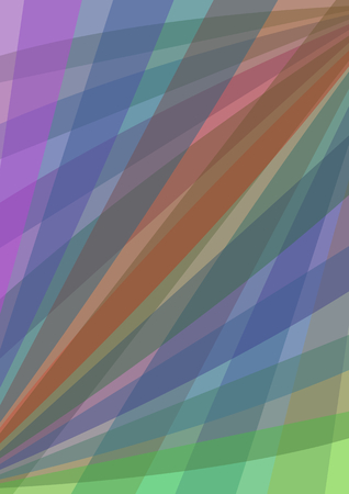 oblique: Abstract background with multicolored oblique stripes, polygonal patterns
