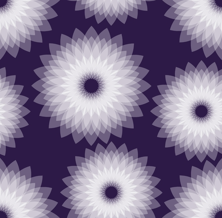 multilayer: Dark purple background with  white semitransparent multilayer star shapes