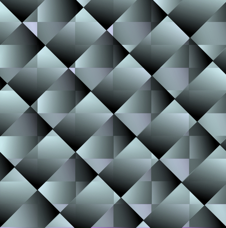 coated: Abstract tile with smoked glass or metal texture, overlapping transparent rectangle patterns Illustration
