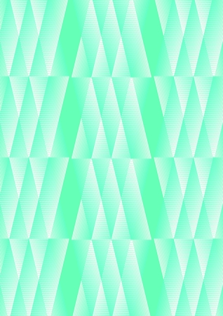 Polygonal white and green background with fine texture