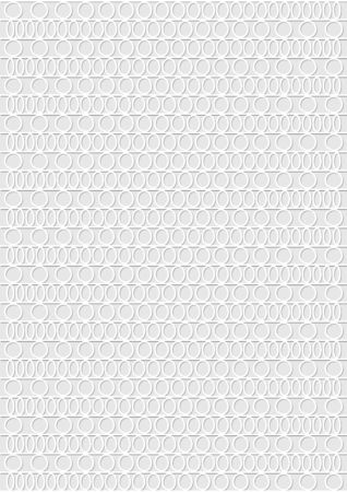 Light grey low contrasting overlay background composed of small circles and ovals in horizontal strips Ilustração