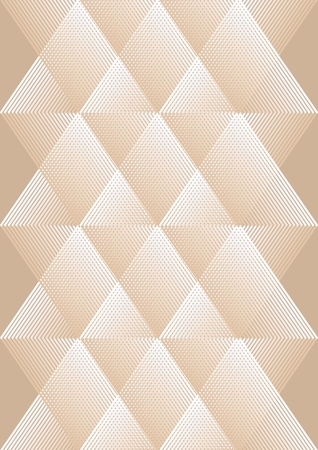 textfield: Overlay background in cubist style, white and beige design, rhomboid patterns with grid structure