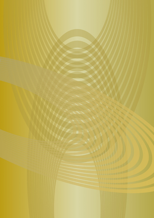 Abstract vertical background with uneven distributed yellow oval elements in surrealist style, low contrasting overlay template