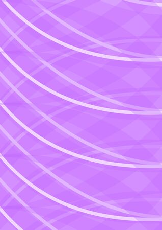 Abstract dark pink background composed of overlapping curves and arcs, blank background, vector design Vectores