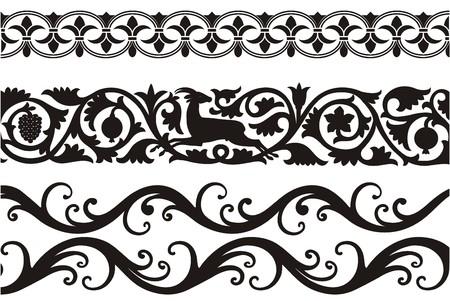 beautiful decorative ornaments Stock Vector - 5586969