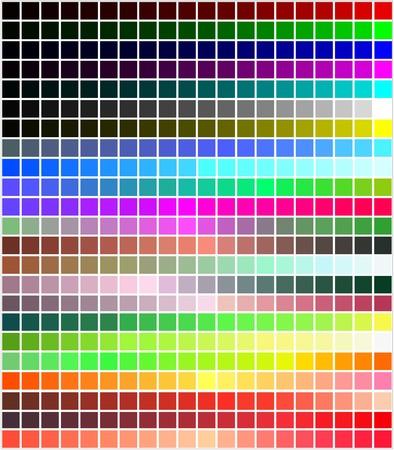 chromatique: couleur tons dynamique transformations Illustration