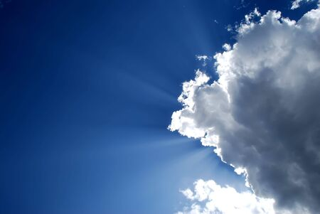 dramatic lighted beautiful clouds Stock Photo - 5974157